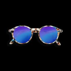 lunettes junior blue tortoise blue mirror