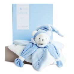 ours bleu j'aime mon doudou